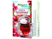 HERBAPOL - CRANBERRIES TEA - FIX - 20 sachets - For preparation of a beverage of a sour and refreshing taste, rich in C and mineral elements
