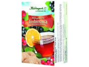 """HERBAPOL - GINGER TEA-FIX - 20 sachets - is excellent composition of ginger and comminuted fruits, rich in vitamins and microelements - is also recommended for the person, who have """"problem"""" during a travel."""