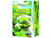 HERBAPOL - GREEN TEA - FIX - 20 sachets - Green tea infusion contains vitamins and numerous minerals, has a beneficial influence on clearness of the mind and activity
