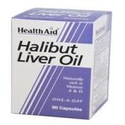 HealthAid Halibut Liver Oil 90 capsule x 1