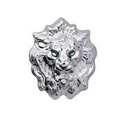 Men Domineering Lion Brooches Pins Suit Accessories