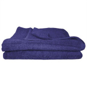Super Absorbant, Thick and Fluffy Bath Towel/Sheet - Ideal for Home or Spa, B & B, Hotel and Hotel Use - 500gsm - 100% Cotton - 140cm x 70cm - Navy Blue