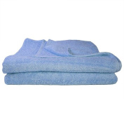 Super Absorbant, Thick and Fluffy Bath Towel/Sheet - Ideal for Home or Spa, B & B, Hotel and Hotel Use - 500gsm - 100% Cotton - 140cm x 70cm - Sky Blue
