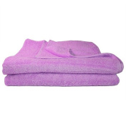 Super Absorbant, Thick and Fluffy Bath Towel/Sheet - Ideal for Home or Spa, B & B, Hotel and Hotel Use - 500gsm - 100% Cotton - 140cm x 70cm - Lilac