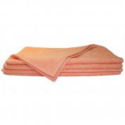 Super Absorbant, Thick and Fluffy Hand Towel - Ideal for Home or Spa, B & B, Hotel and Hotel Use - 500gsm - 100% Cotton - 90cm x 50cm - Peach