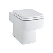 Euro Bathroom White Ceramic Back To Wall Toilet & Soft Close Toilet Seat