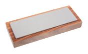 Eze-Lap 5.1cm x 15cm Fine Grit Diamond Bench Stone (600) on a Walnut Pedestal