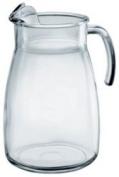 Ice Lipped 4 Pint Arctic glass Jug 2370ml / 2.5ltr (Single) by Chabrias Ltd