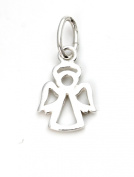 Solid Silver 925 guardian angel charm pendant fits on Links of London bracelet or necklace