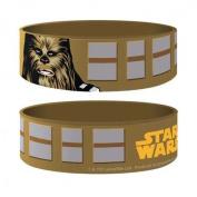 Star Wars - Chewbacca - Bracelet Vintage Brown - 24 x 65 x 1 mm Stretchy