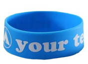 Fun - Your Tent Or Mine. Silicone Wristband for Collectors - Wrist Bands - Width: 24 mm, Diameter