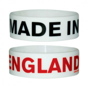 Fun - Made In England - Silicone Wristband for Collectors - Wrist Bands - Width: 24 mm, Diameter