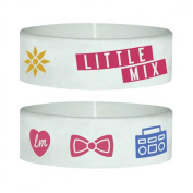 Little Mix - White Mix - Silicone Wristband for Collectors - Wrist Bands - Width: 24 mm, Diameter