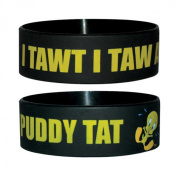 Sylvester - Puddy Indeed - Silicone Wristband for Collectors - Wrist Bands - 24 x 65 x 1 mm Stretchy