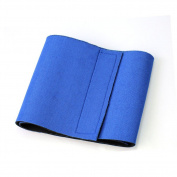 Lady Slimming Waist Trimmer Exercise Body Shape Belt Burn Fat Weight Loss Blue