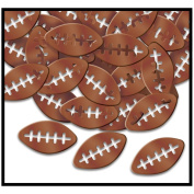 Fanci-Fetti Footballs (brown) Party Accessory (1 count)