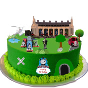 Thomas The Tank Engine Stand Up Scene Premium Edible Wafer Paper Cake Toppers Decorations