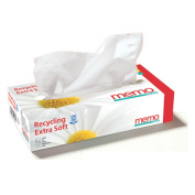 Memo Hygiène Bio ECO MH1067 Tissues Recycled Paper Pack of 250cm Box