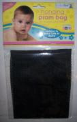 Brand new Baby Hanging Pram Net Bag in Black