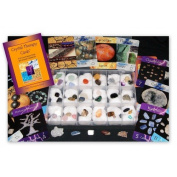 Gifts and Guidance Crystal Therapy Cards Oracle Deck & 40 Specimen Collection Kit