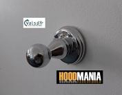 """Valsan """"Victoria"""" Luxury Designer Polished Chrome Single Bathroom Bedroom Robe / Towel Hook"""