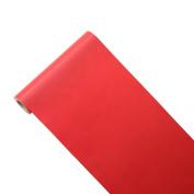 JUNOPAX 29201307 50 x 0.40 m Banquet Roll Paper Table Runners, Red
