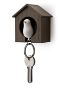 Qualy Sparrow Keyring - White