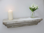 SHABBY CHIC DISPLAY FLOATING SHELF - wooden vintage retro wall decoration