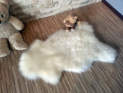 Biggest Sheepskin Rug | Genuine | Thick Wool | Creamy White