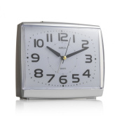 KG Homewares Large Numbers Dial With Silent Sweep Light Snooze Alarm Clock