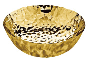 Alessi Joy N.11 Round Basket, Gold Plated