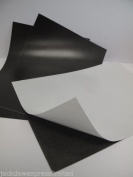 3 x A4 Self Adhesive Flexible Magnetic Sheets 0.7mm Thick Perfect for Spellbinder Dies