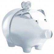 Vera Wang by Wedgwood - Infinity Silver Plated Piggy Bank