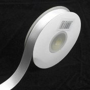 White Double Faced Satin Ribbon. 3mm x 50meters Per Reel
