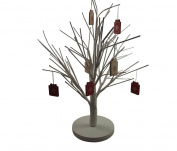 White Christmas Twig Tree - Beautiful Table Decoration