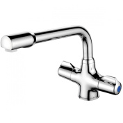 Francis Pegler CD 452101 Ceramic Dual Flow Sink Mixer Disc with Tubular Spout