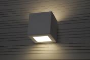 LEO modern ceramic wall lighting E27, paintable
