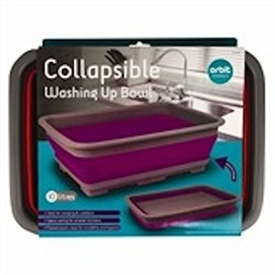 Collapsible Washing Up Bowl - Ideal for Camping