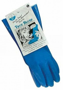 Eddingtons True Blue Latex Free , 100% Cotton Lined Gloves - Medium