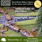 German SdKfz 251 Halftrack Conversion Kit