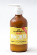 Grace Harbour Farms Fragrance Free MSM Cream 240ml Bottle