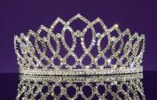 Alexandra - Elegant Rhinestone Crystal Bridal Wedding Tiara Crown