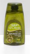 Dalan d'Olive Olive Oil Shower Gel TRIPLE PACK pH5.5 Paraben Free 3x250ml
