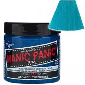 Manic Panic Atomic Turquoise Hair Dye 120ml by BeWild, Manic Panic