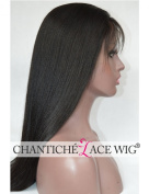 Chantiche Best Yaki Straight Lace Front Wigs Human Hair for Black Women Glueless Brazilian Remy Lace Wig with Baby Hair 130 Density 60cm