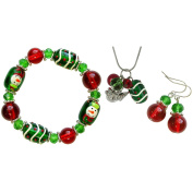 Holiday Bead Kit-Christmas - Red & Green