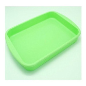 25cm Rectangle Tray Nonstick Flexible Silicone Oven Cake Baking Candy Making Moulds Cake Loaf Toast Mould Multifunction
