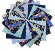 40 13cm Shades of Blue Charm Pack