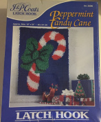 Peppermint Candy Cane Latch Hook Kit