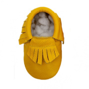 Sunward Baby Tassel Soft Sole Leather Shoes Infant Boy Girl Toddler Moccasin